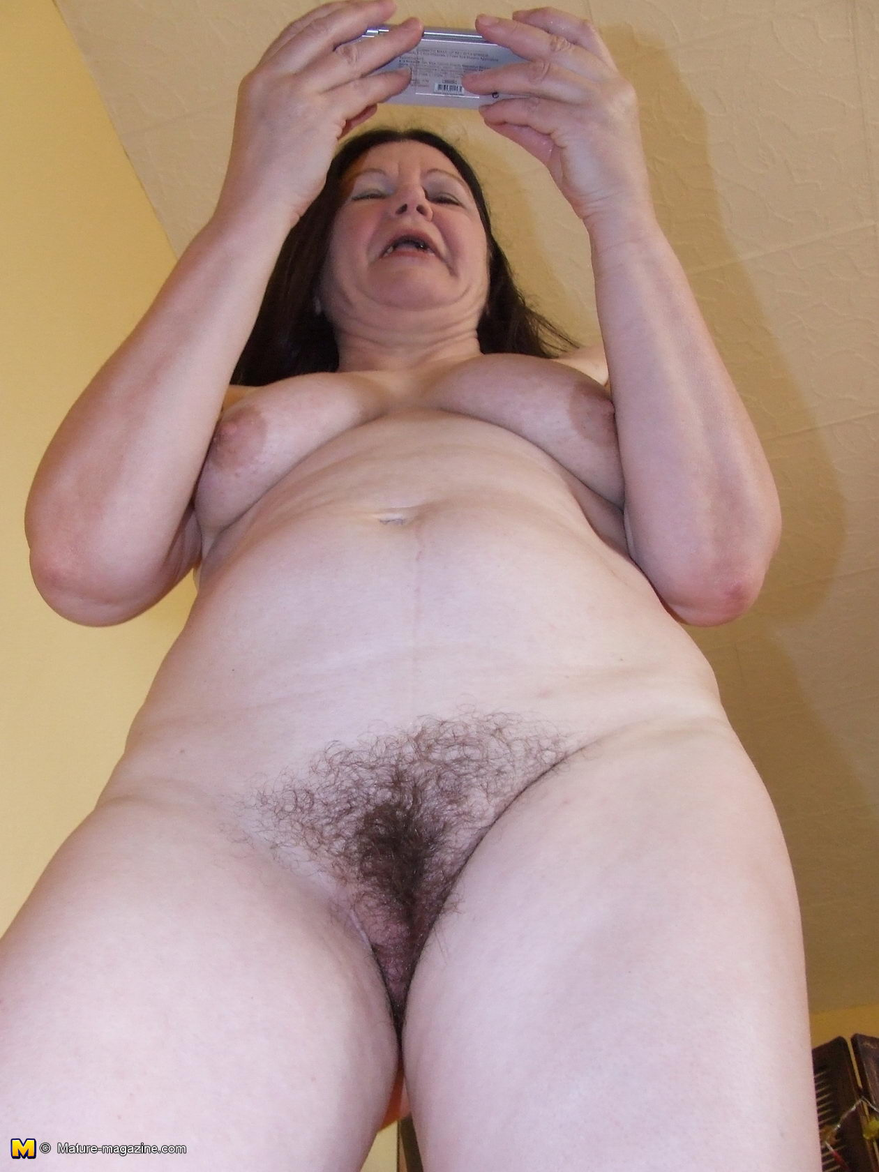 Hairy grandma nude very