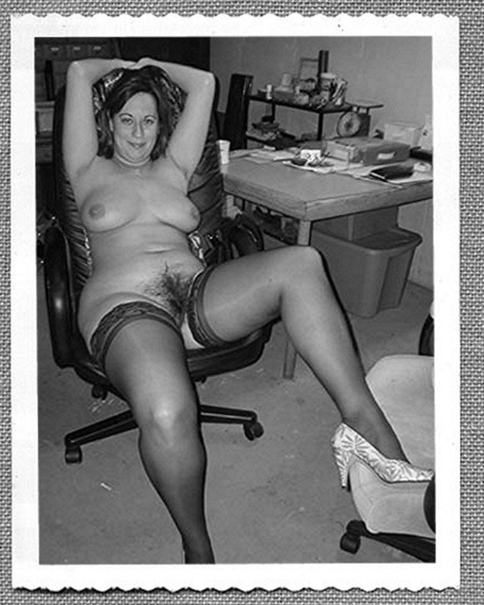 Stockings hairy vintage nudes