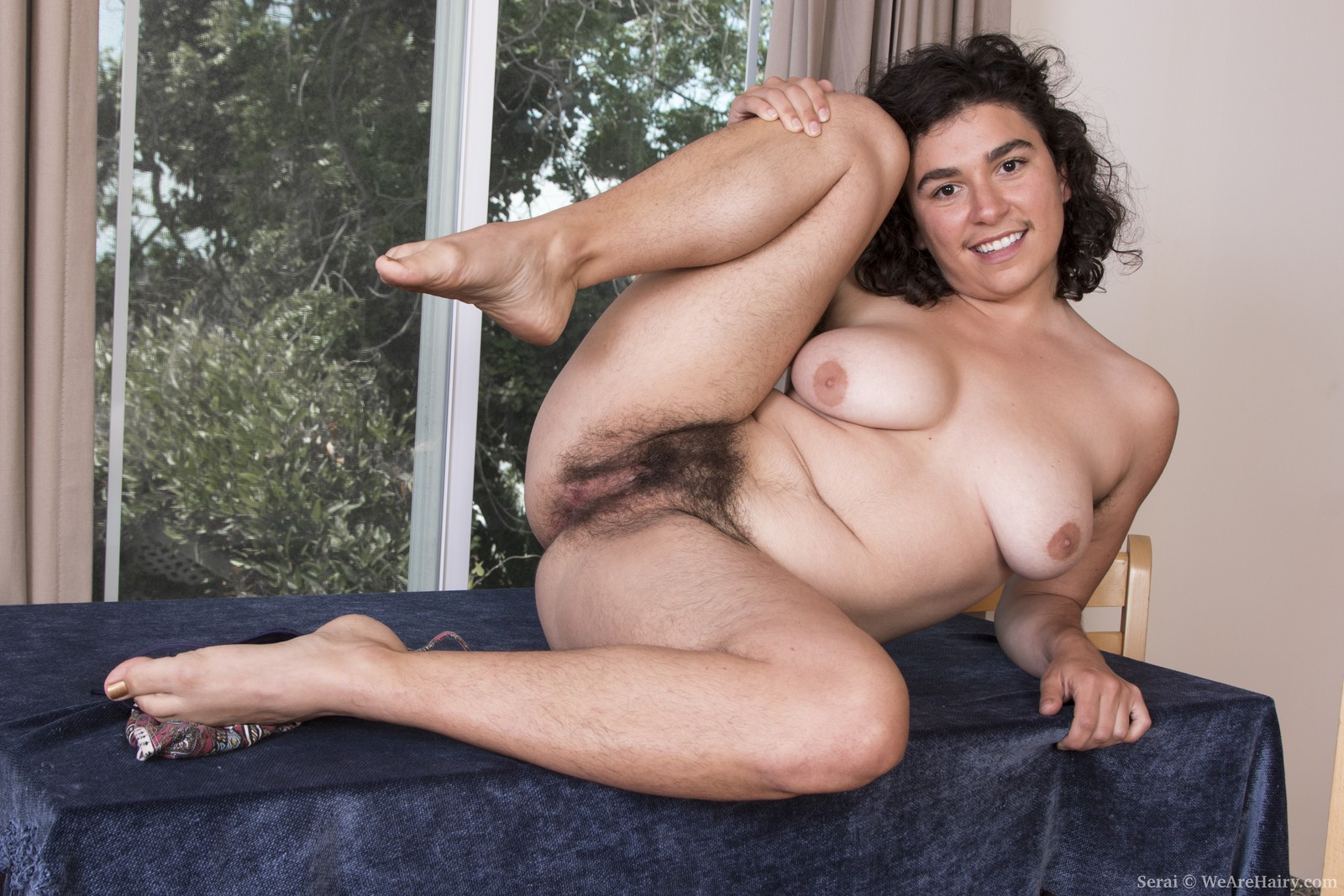 hairy nudes American