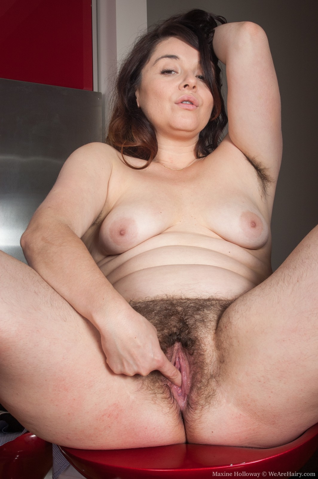 Visible, maxine holloway hairy have faced