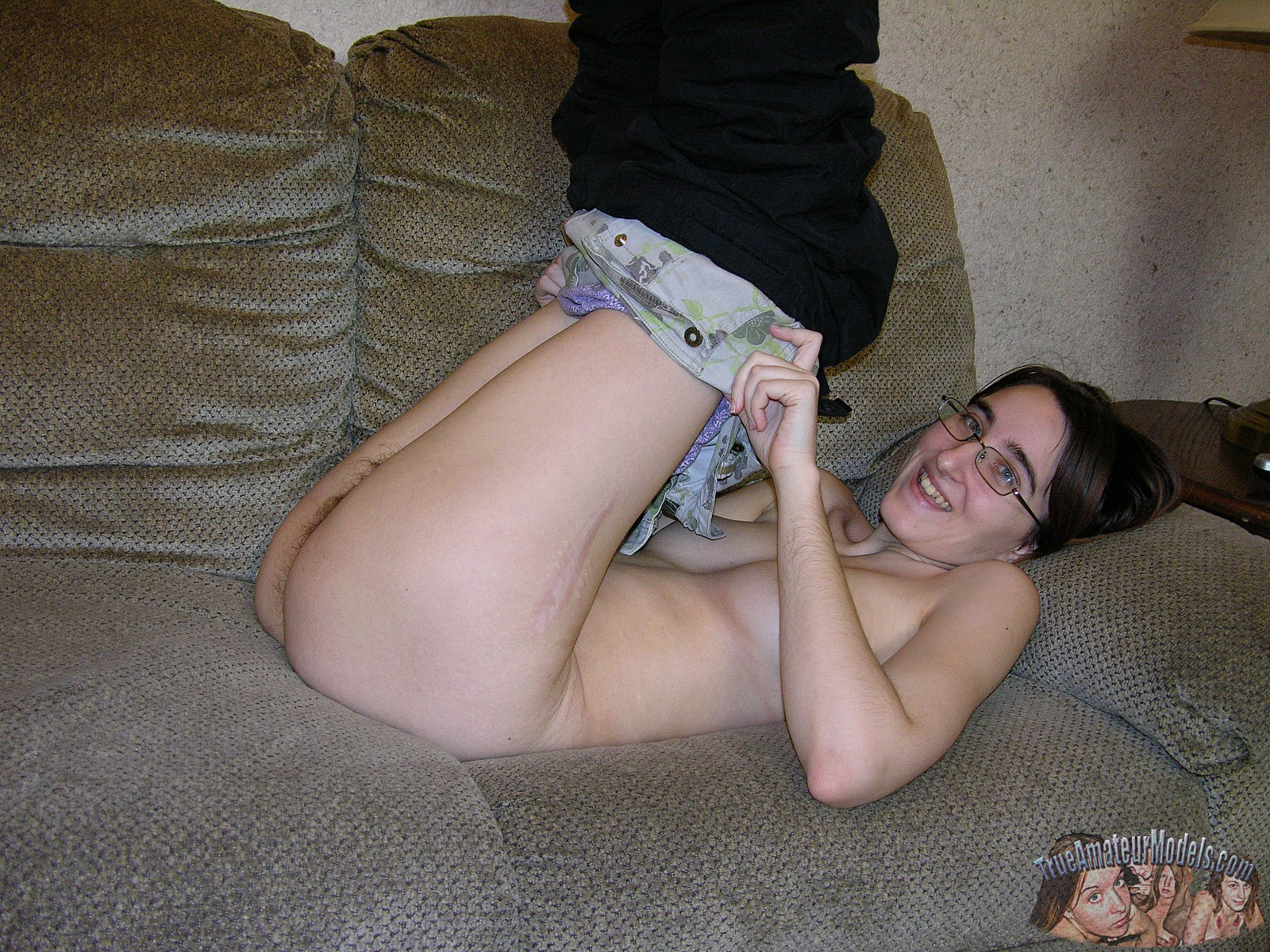 Join. amateur nerd nude glasses really