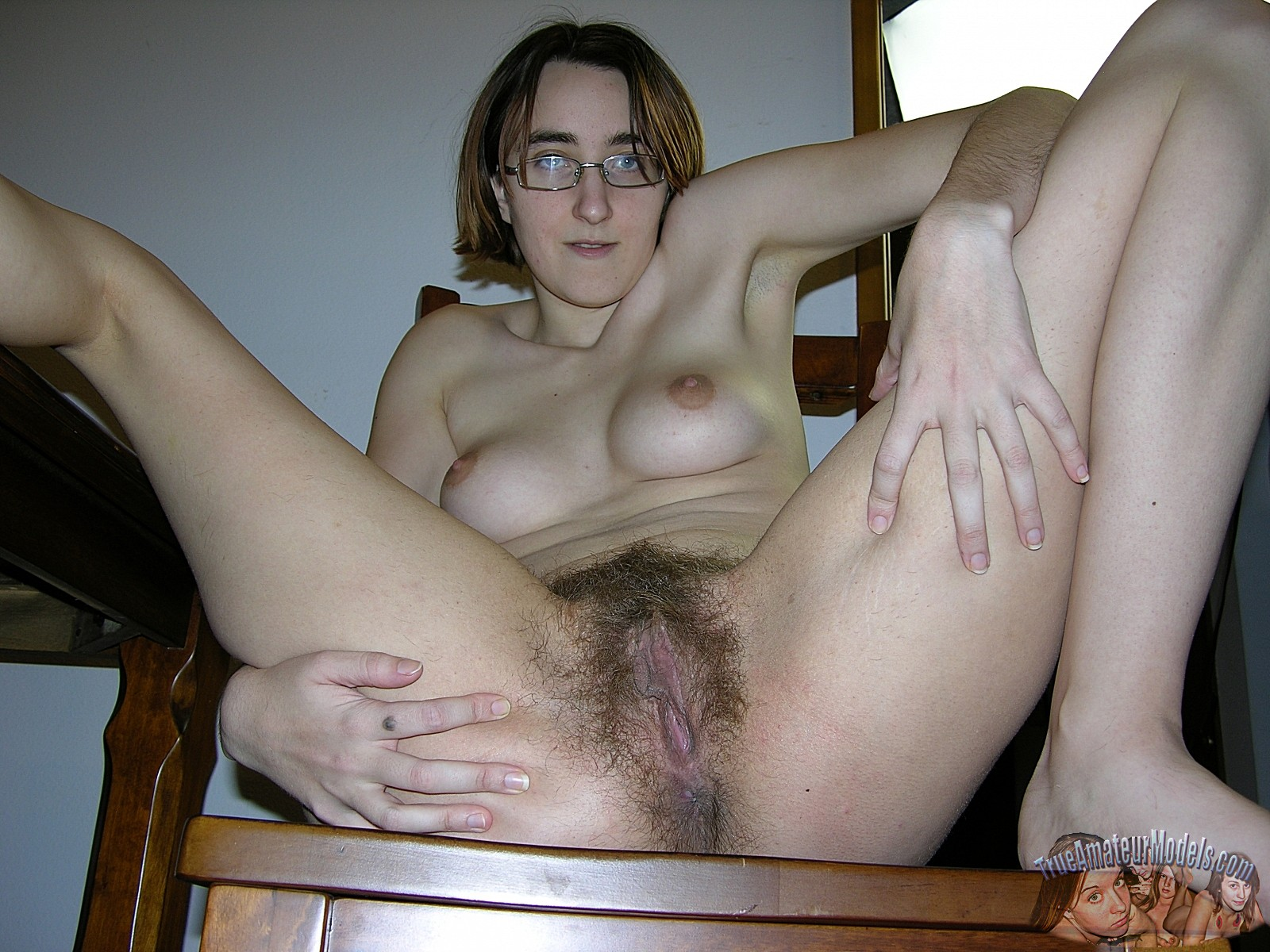 Nerd hairy hot cunt
