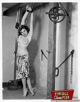 Well possible! classic vintage bondage porn will not